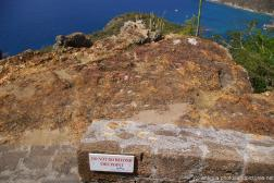 Do Not Go Beyond This Point sign atop of Shirley Heights in Antigua.jpg