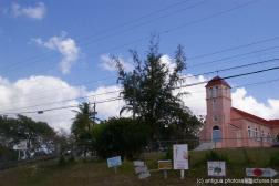 Pink colored church in Antigua.jpg