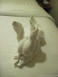 Rabbit Towel Animal aboard Norwegian Dawn.jpg
