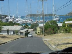 Road down to the yacht harbor in Antigua.jpg