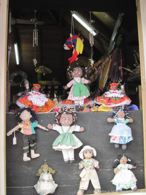 Antiguan dolls at a shop in St Johns Antigua.jpg
